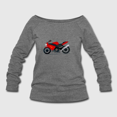 motor cycle - Women's Wideneck Sweatshirt