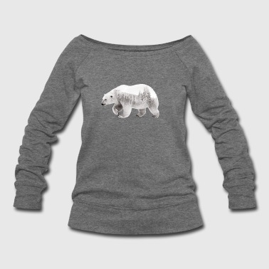 Arctic Bear - Women's Wideneck Sweatshirt