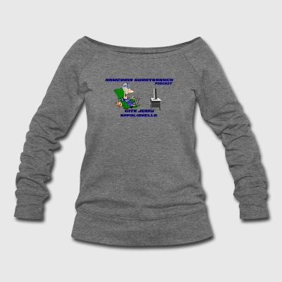 Armchair Quarterback Podcast - Women's Wideneck Sweatshirt