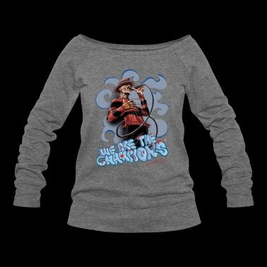 Freddie Nightmares - Women's Wideneck Sweatshirt