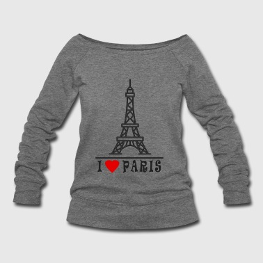 Paris - Women's Wideneck Sweatshirt