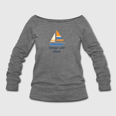 Sebago Lake - Women's Wideneck Sweatshirt