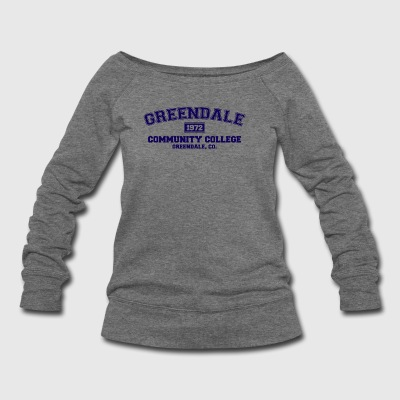 Greendale Community College - Women's Wideneck Sweatshirt