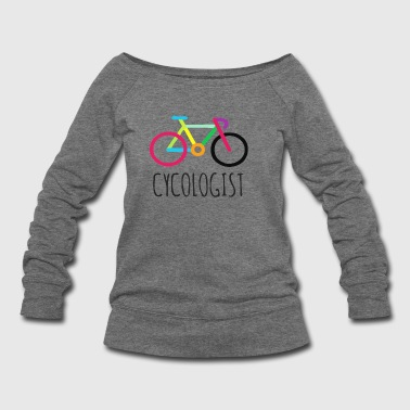 Cycologist Cycling - Women's Wideneck Sweatshirt