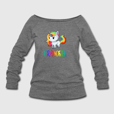 Frankie Unicorn - Women's Wideneck Sweatshirt