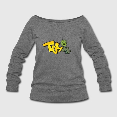 graffiti - Women's Wideneck Sweatshirt