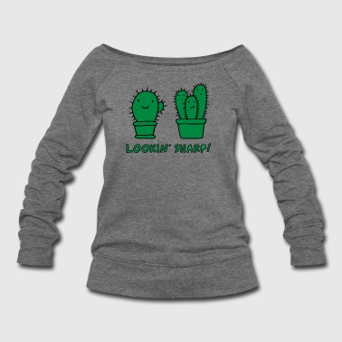 Lookin Sharp - Women's Wideneck Sweatshirt