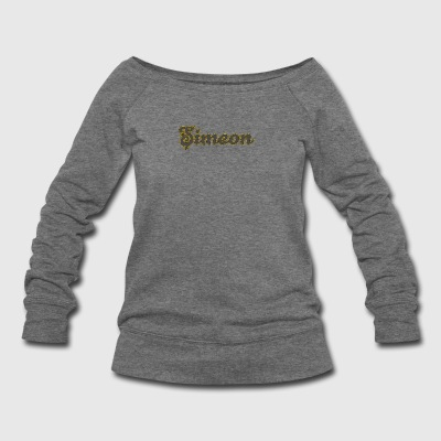 Simeon Tribal Gears - Women's Wideneck Sweatshirt