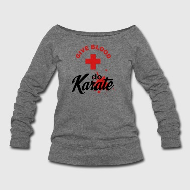 Karate - Women's Wideneck Sweatshirt