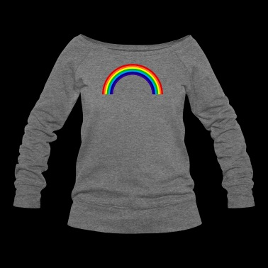 ABDELPLAYZ RAINBOW OFFICIAL T-SHIRTS (SALE) - Women's Wideneck Sweatshirt