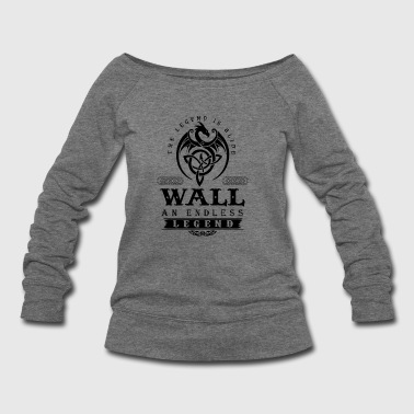 WALL - Women's Wideneck Sweatshirt