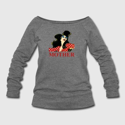 MOTHER - Women's Wideneck Sweatshirt