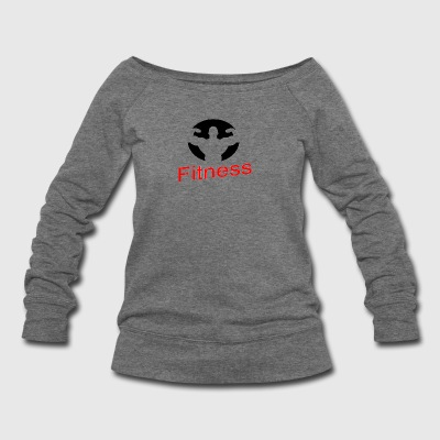 FITNESS - Women's Wideneck Sweatshirt