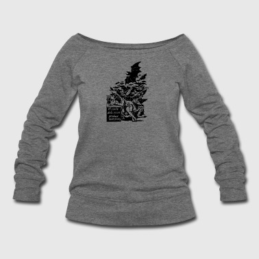Sleep Of Reason - Women's Wideneck Sweatshirt