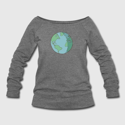 planet 3 - Women's Wideneck Sweatshirt