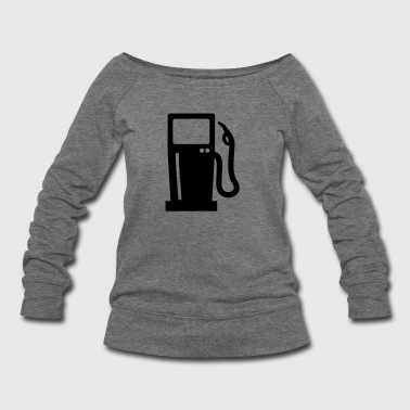 Gas station - Women's Wideneck Sweatshirt