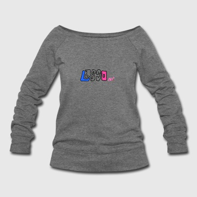 Drawing - Women's Wideneck Sweatshirt