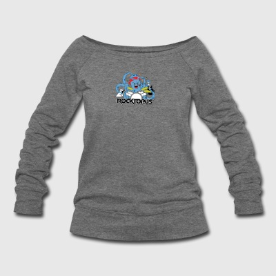 Rocking Octopus - Women's Wideneck Sweatshirt