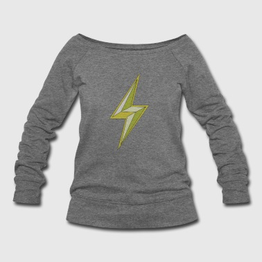 lightning - Women's Wideneck Sweatshirt