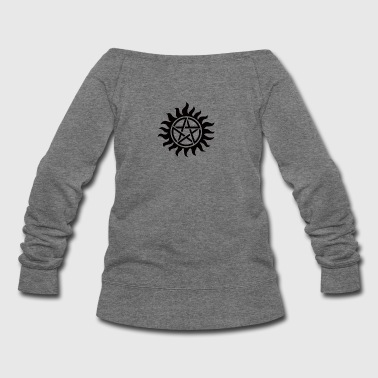 Supernatural Tattoo - Women's Wideneck Sweatshirt