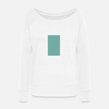Pattern Pattern - Women's Wide-Neck Sweatshirt