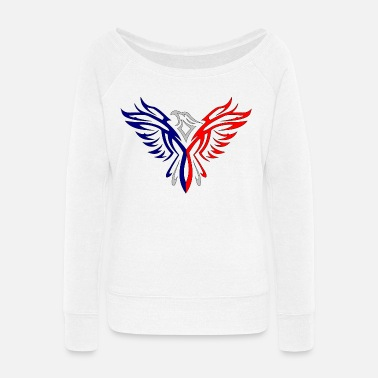 Fusion Eagle Red And Blue Women's Premium T-Shirt   Spreadshirt