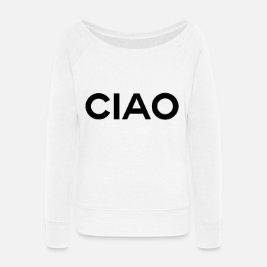Jack THE FASHION TEE - TRAVEL CIAO - Women's Wide-Neck Sweatshirt