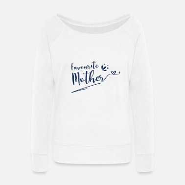 Mothers Day Mother's Day Mother's Day Mother's Day - Women's Wide-Neck Sweatshirt