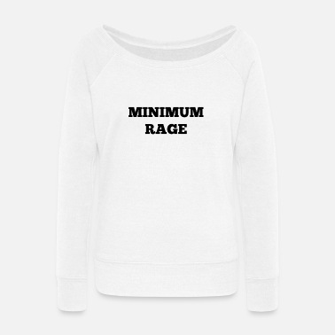 Minimum Minimum Rage - Women's Wide-Neck Sweatshirt