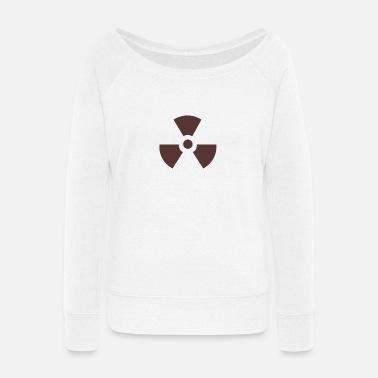 Fan fan - Women's Wide-Neck Sweatshirt