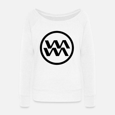 Constellation Aquarius - Women's Wide-Neck Sweatshirt