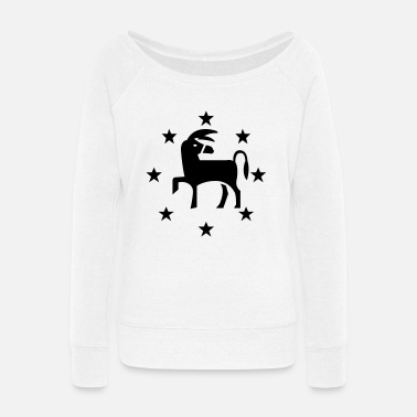 Democrat Democrat - Women's Wide-Neck Sweatshirt