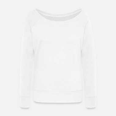 Double Trouble - Women's Wide-Neck Sweatshirt