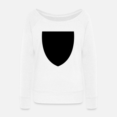 Shield Shield - Women's Wide-Neck Sweatshirt
