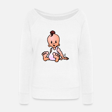 Lapsi Baby - Women's Wide-Neck Sweatshirt