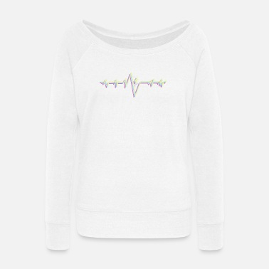 Ski Resort Ski - Women's Wide-Neck Sweatshirt