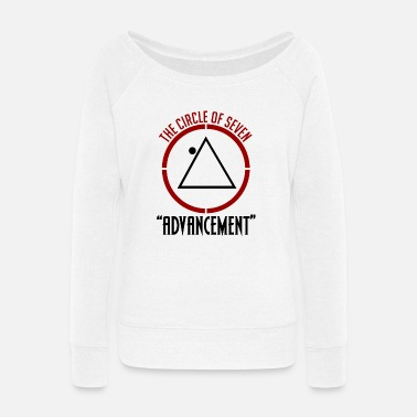 2016 Circle Seven - Women's Wide-Neck Sweatshirt