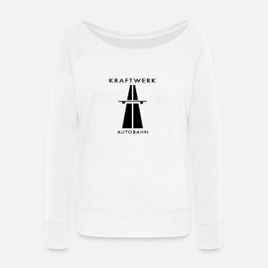 Kraftwerk merch - Women's Wide-Neck Sweatshirt