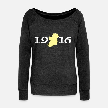 1916 Ireland 1916 Eire - Women's Wideneck Sweatshirt