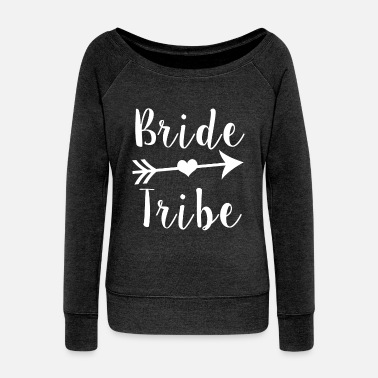 Bridesmaid Bride Tribe Bridesmaid - Women's Wideneck Sweatshirt
