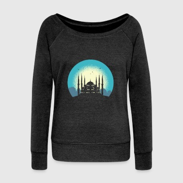 Mosque - Women's Wideneck Sweatshirt