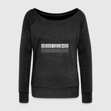 12345 - Women's Wideneck Sweatshirt