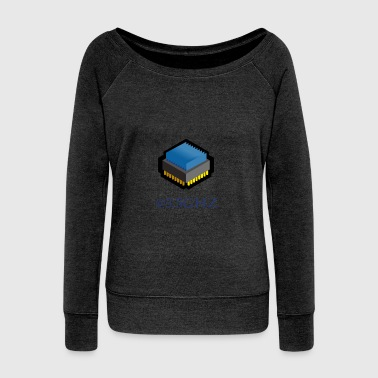 3.5 GHZ - Women's Wideneck Sweatshirt