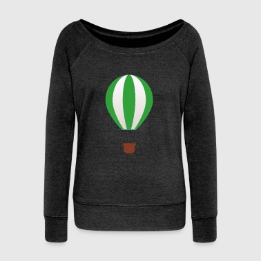 Hot Air Balloon Balloon - Women's Wideneck Sweatshirt
