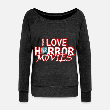 Movie Horror Movies - Women's Wideneck Sweatshirt