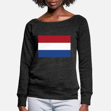 Holland holland - Women's Wide-Neck Sweatshirt
