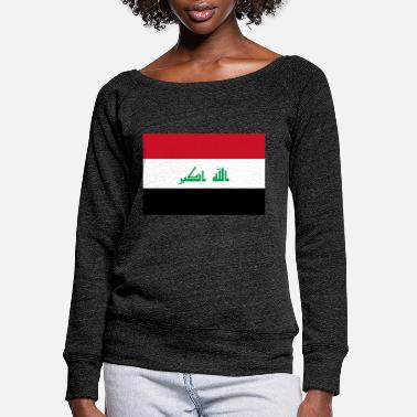 Irak Irak - Women's Wide-Neck Sweatshirt