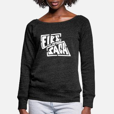 Fire Band Saga - Women's Wide-Neck Sweatshirt