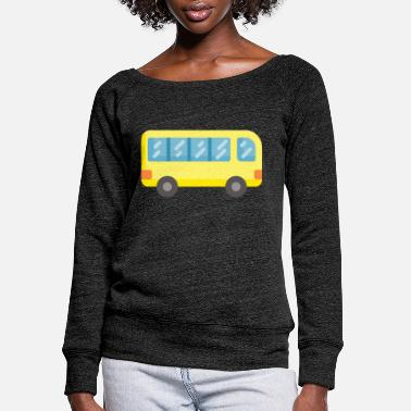 Buss It Buss - Women's Wide-Neck Sweatshirt