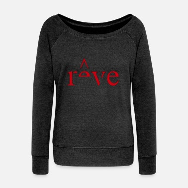 reve - Women's Wide-Neck Sweatshirt